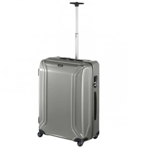 zero-halliburton-zero-air-ii-4-wheels-trolley-62-cm-gunmetal