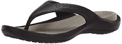 Crocs Flip Flops, Chanclas Unisex Adulto, Negro Black/Smoke, 43/44 EU