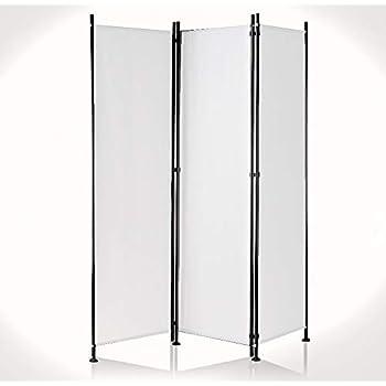 2 Stück Paravent 5 teilig Grau  Raumteiler Trennwand Sichtschutz NEU /& OVP