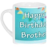 Happy Birthday Brother | Brother Birthday | Bro Birthday | Birthday Gift | Gift For Brother | Birthday Mug By Attire Bucket