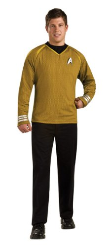 Rubie s Star Trek Grand Heritage Gold Shirt Fancy Dress (XL)