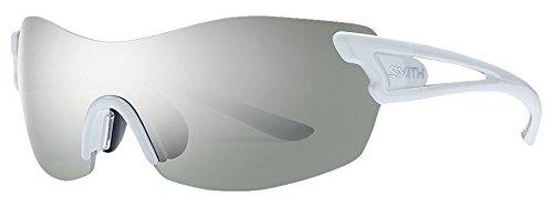 Smith Pivlock Asana/N 28 Vk6, Gafas de Sol para Mujer, Blanco (White/Iu+Zb+99), 99