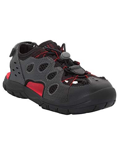Jack Wolfskin Unisex-Kinder Titicaca Low Sport Sandalen, Schwarz (Black 6000), 33 EU