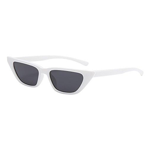 WUDUBE Punk-Style-Persönlichkeitssonnenbrille, Brille mit unregelmäßigen Gläsern, Brille im ()