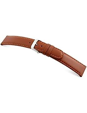 RIOS1931 Uhrenarmband Arizona Sattelleder Cognac Small Bandanstoss 14 mm