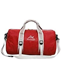 Alcoa Prime Foldable Outdoor Travel Duffel Tote Bag Luggage Sports Fitness Holdall Red