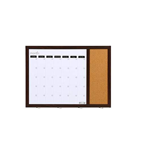 ZYY Dekorative Verteilerkasten magnetisches weißes Brett entfernbares magnetisches Plan-Brett-Kalender-Gitter (Board Bulletin Magnetische)