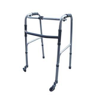 andador de ancianos de dos ruedas