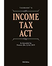 Income Tax Act-As Amended by Taxation Laws (Amendment) Ordinance 2019 (64th Edition 2019)
