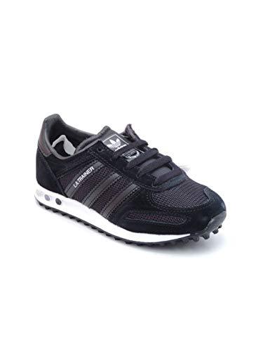 new product 38004 af400 adidas LA Trainer Kids Sneaker a Collo Basso Unisex – Bambini, Nero Blk, 35