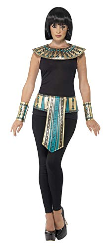 Smiffys 41556 - Egyptian Kit mit Collar Cuffs und ()