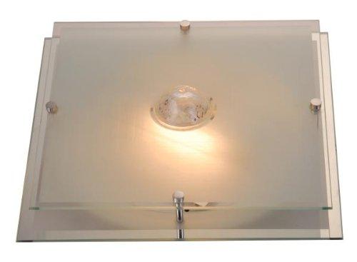 Deckenleuchte Malaga Größe: 11cm H x 32cm W x 32cm T