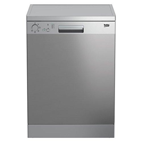 Beko DFC05210X Independiente 12espacios A+ Acero inoxidable lavavajilla – Lavavajillas (Independiente, A+, Acero inoxidable, Botones, Giratorio, Economía, Intensivo, Normal, Estático)