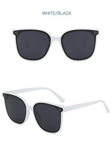 Wang-rx occhiali da sole a specchio quadrati oversize alla moda donna occhiali da sole occhiali da sole femminili occhiali da sole uv400