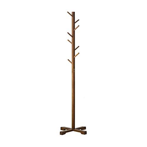 Nevy marche appendiabiti bamboo simple hanger solid wood assembly hanger camera da letto soggiorno forte capacità portante