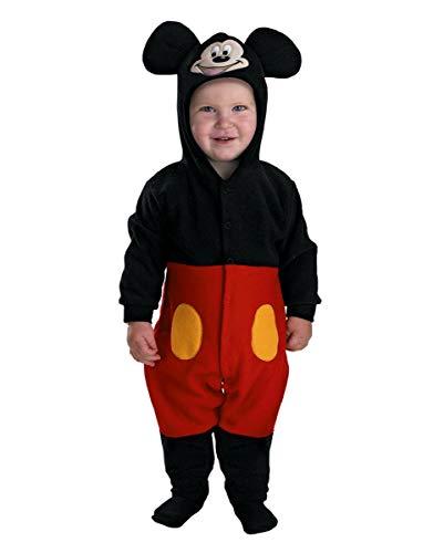Horror-Shop Mickey Mouse Baby Kostüm Jumpsuit für Halloween und Karneval Horror-jumpsuit