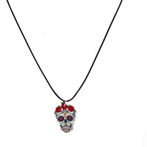 yiyiter Halskette Cowboystiefel Halskette Halloween Accessoire Leather Necklace für Halloween Damen Kostüm Schmuck