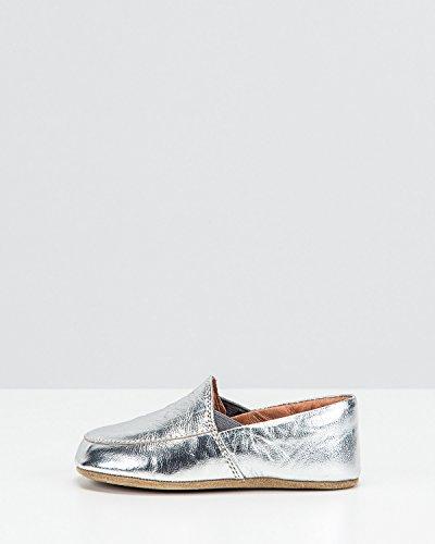 Bundgaard Hops Hausschuhe Silber