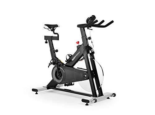 BT BODYTONE - DS-20 - Bicicleta Estática Profesional de Ciclo Indoor para Fitness y Spinning - Regulador de Resistencia y Display - Materiales de Primera Calidad - Peso Máximo Usuario 100 KG.