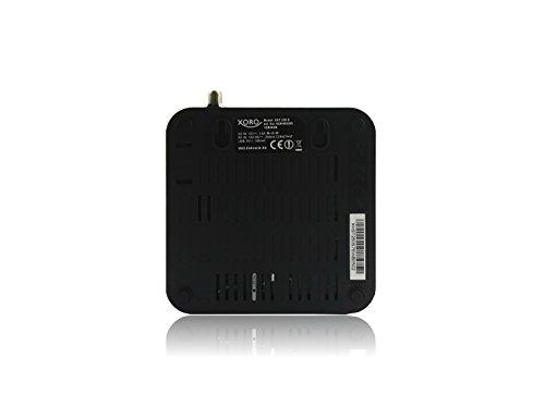 Xoro HST 250 S SmartTV SAT IP-Box HD Mediaplayer  4x 1 5GHz QuadCore Cortex A5 CPU  8GB Flash  1GB RAM  DVB-S2 Tuner  HDMI  WLAN  LAN  DLNA  SDHC  USB 2 0  Bluetooth  Android 4 4  black