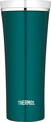 THERMOS 4004.255.047 Coffee-to-Go Thermobecher Premium, Edelstahl Teal 0,47 l, 5 Stunden heiß, 9 Stunden kalt, BPA-Free -