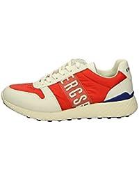 Bikkembergs - Zapatillas para hombre rojo rojo