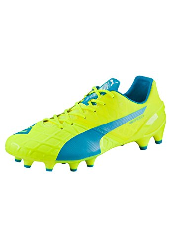 Puma Evospeed 1.4 Fg, Chaussures de football homme Jaune
