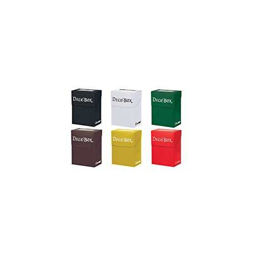 Preisvergleich Produktbild 6 x Ultra Pro Deck Boxes Various Colours For Trading Card Game Storage,Pokemon,Magic the Gathering Etc. by Ultra Pro