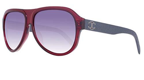 Just Cavalli Unisex-Erwachsene Sunglasses Jc598S 66B 61 Sonnenbrille, Rot,