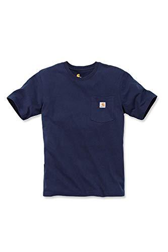 afdbd78fa6f Carhartt Women T-Shirt Work Pocket, Größe:M, Farbe:Navy