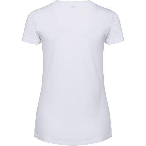 Chiemsee Damen Logo Frontdruck T-Shirt 100 White