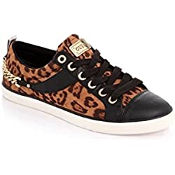 Guess Zapatillas Leopardo/Negro EU 39