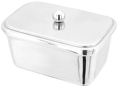 Edelstahl Butter Wanne Halter für 500g Wannen 10cm x 15cm x - Chrom Set Wanne