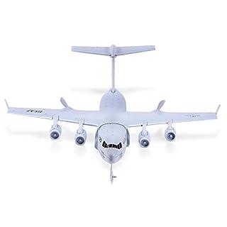 C 17 Transport 373mm Spannweite EPP DIY RC Flugzeug 2,4G 2CH 3 Achsen Gyro Flugzeug RTF RC