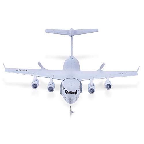 Dilwe Aeromobili a Controllo Remoto C-17 Trasporto 373 MM Apertura Alare EPP DIY Aereo RC 2.4G 2CH Aeromobile Giroscopico a 3 Assi RTF RC