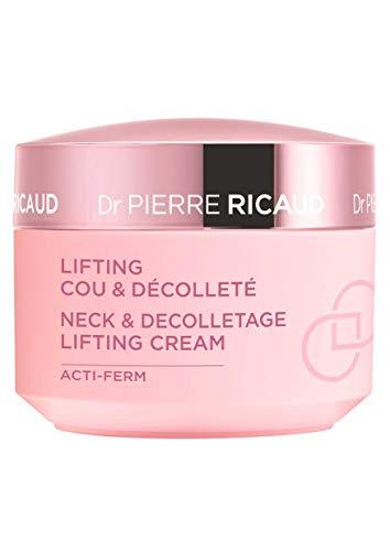 Dr. Pierre Ricaud - Lifting-Creme für Hals und Dekolleté - Glättet & belebt - Strahlend schöne Haut - Sofortiger & dauerhafter Lifting-Effekt - Speziell für Hals und Dekolleté - 50 ml Tiegel