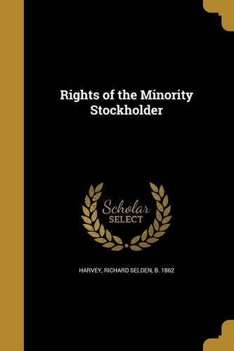 RIGHTS OF THE MINORITY STOCKHO