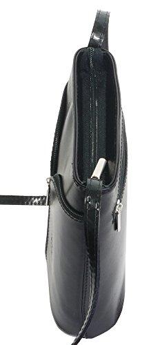Primo Sacchi , Damen Umhängetasche Glatt schwarz
