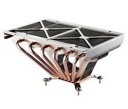 Cooler Master GeminII - PC Case Fan (Socket T (LGA 775), Silver, Aluminium  and Copper, 847 G, 175 x 124 6 X 81 5 mm)