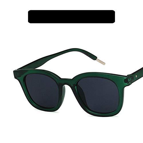 8Eninine 5184 Sunglasses Small Square Frame Sunglasses Damen Herren Driving Sunglasses Green & Grey