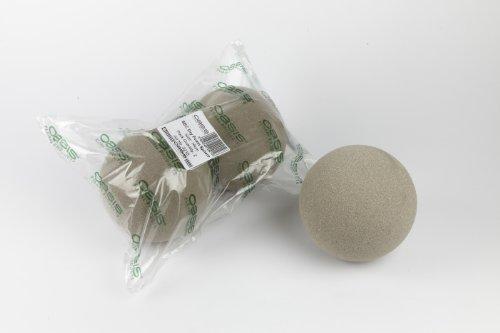 Oasis Sec Kugeln, Blumensteckschaum, 16 cm, 2 Stück - Ball Topiary Silk