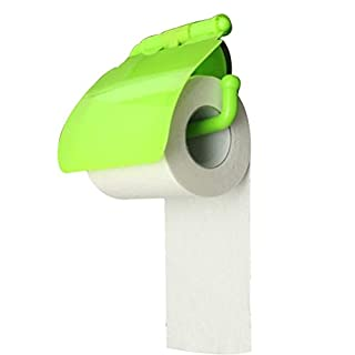 OUNONA Toilettenpapier-Rollen-Halterung mit Saugnapf-Gewebe mit