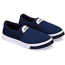 Zenwear Casual Slip On Loafers Shoes for Men, Blue