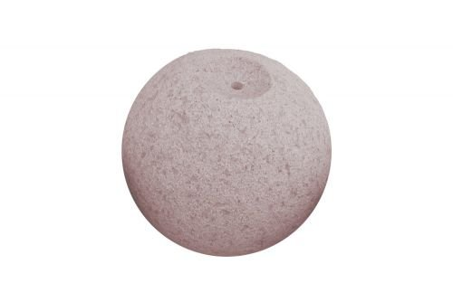Quellkugel aus Granit rot