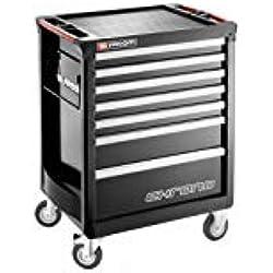 Facom servante chrono + 7 tiroirs - 3 modules par tiroir noir