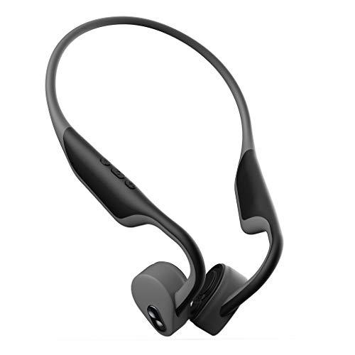 BH128 Knochenleitung Over-Ear-Wireless Bluetooth-Sportkopfhörer/Leichtes und Komfortables Design/Stereo-Surround-Sound / IP56-Wasserdicht/Mit Mikrofon-HD-Stimme/Für alle Arten von Bluetooth-Geräten