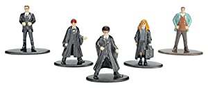 Jada- Nano MetalsFig Pack 5 Figuras Harry Potter, (JADA98666)