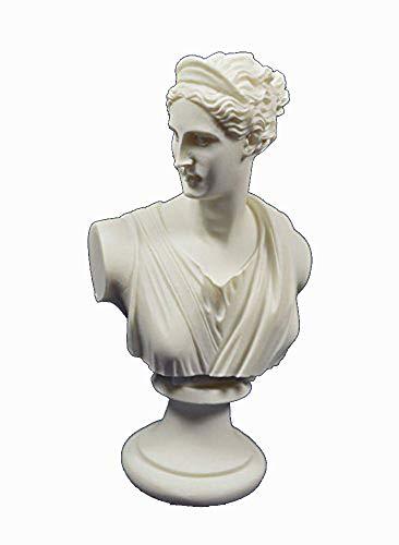 Artemis Escultura Busto Diana Antigua Diosa