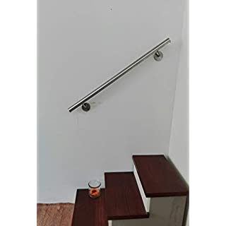Handrail diam. 42.4 mm Stainless Steel AISI 304 with