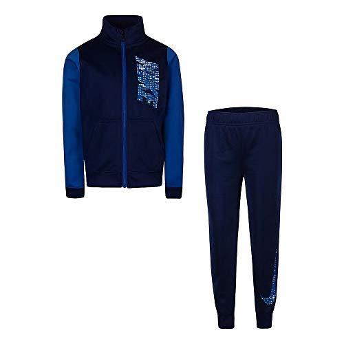 Nike Boys 4-7 Colorblock Zip Track Jacket & Jogger Pants Set Colorblock Track Pant